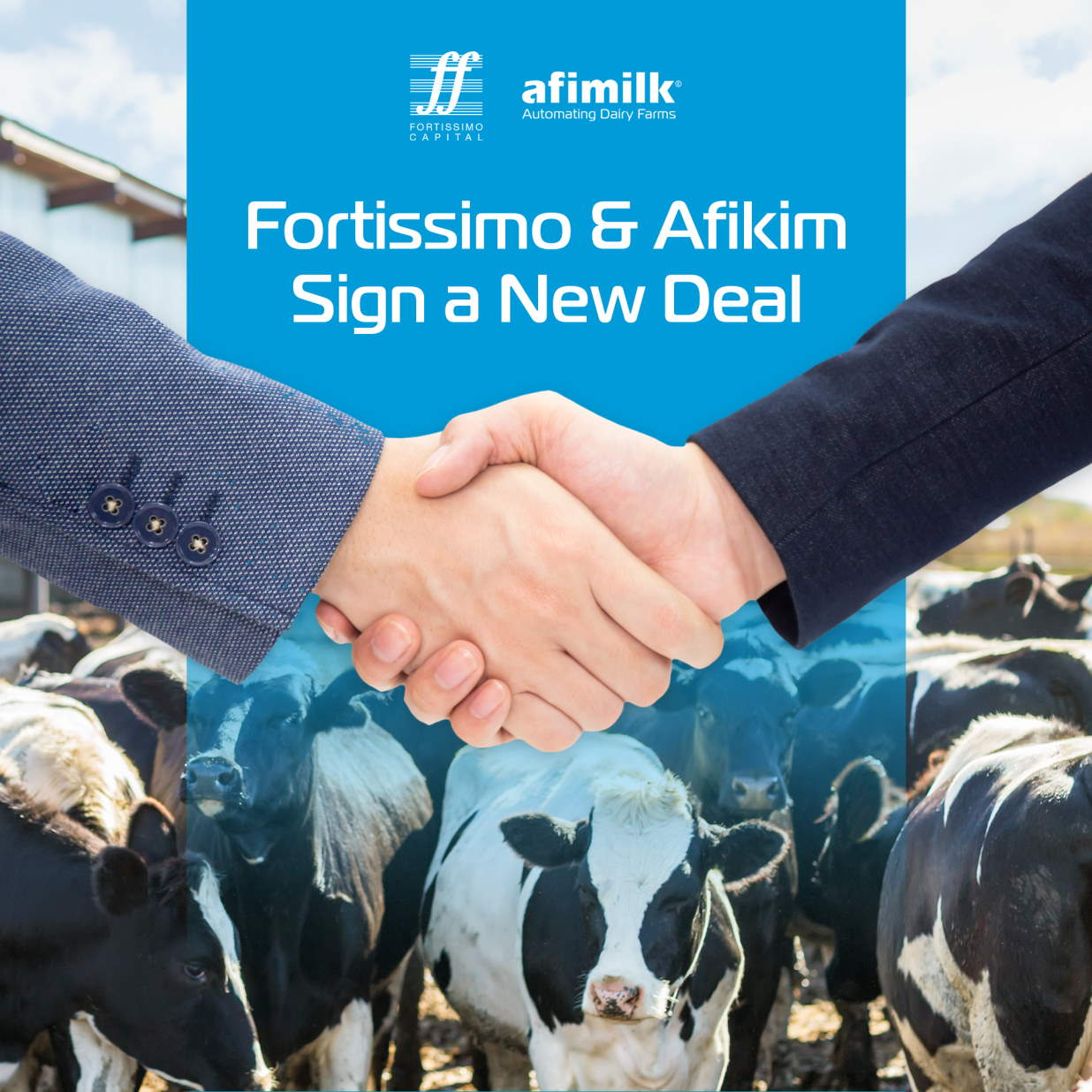 Fortissimo deal with Afimilk